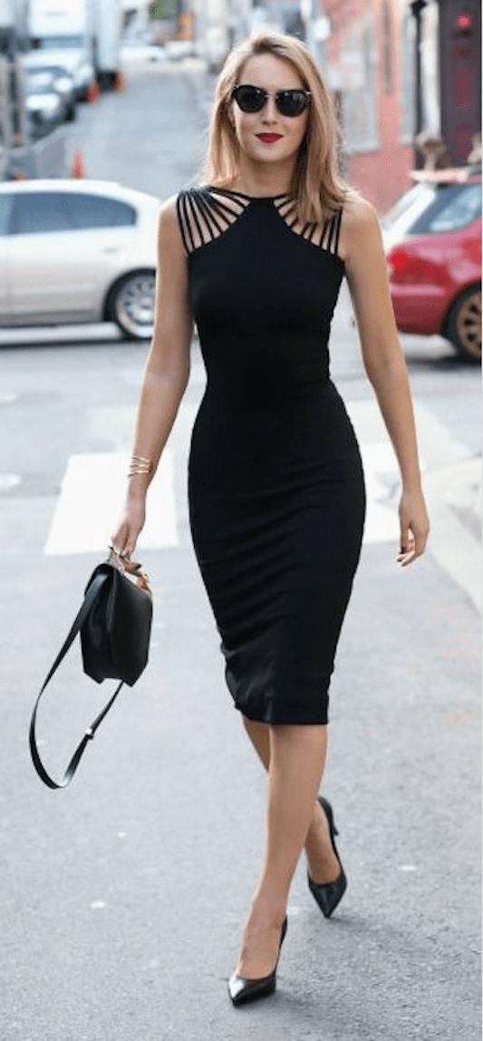 El vestido negro corto no debe faltar en tu armario 30