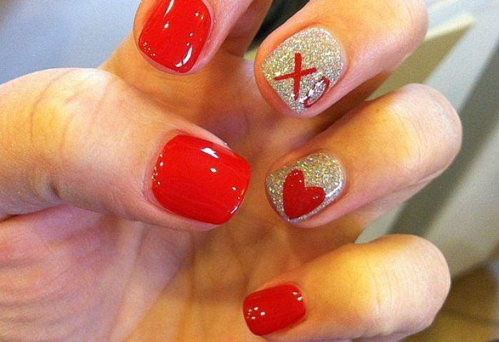 Diseños De Uñas Para El 14 De Febrero Mujer De 10