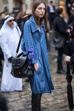 2009-Athens-Streetstyle-Girl-Denim-Jacket-leather-pants-Paris-Fashion-Week-Fall-Winter-2014-2015-Street-Style