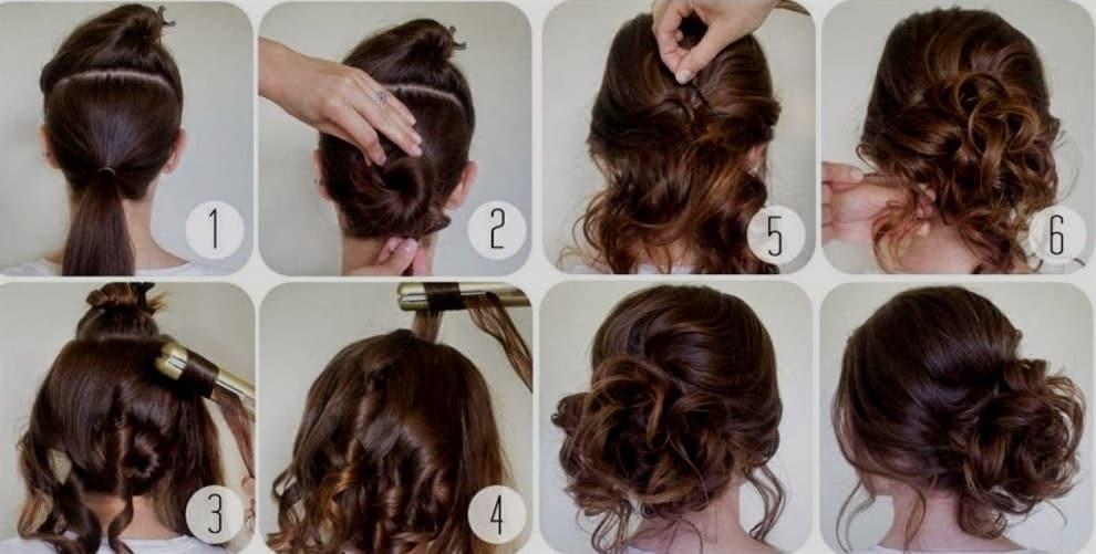 Peinados recogidos largos