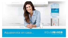 Campaña de Nuria Roca con AquaService y como en Alicante es un servicio muy demandado