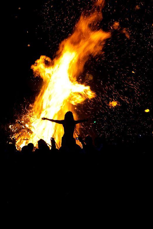 fuegos de beltane
