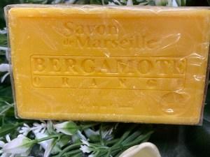 Jabón natural de Bergamota