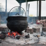 Potjie on the boma.