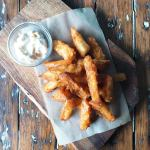Beer battered fries - worth every calorie!