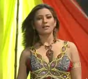 Nadia Chauhdry and Naseem Vicky mujra - Mujra Marhaba Marhaba - Video