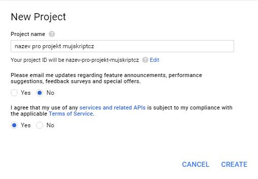 7-create-project-jmeno-potvrzeni