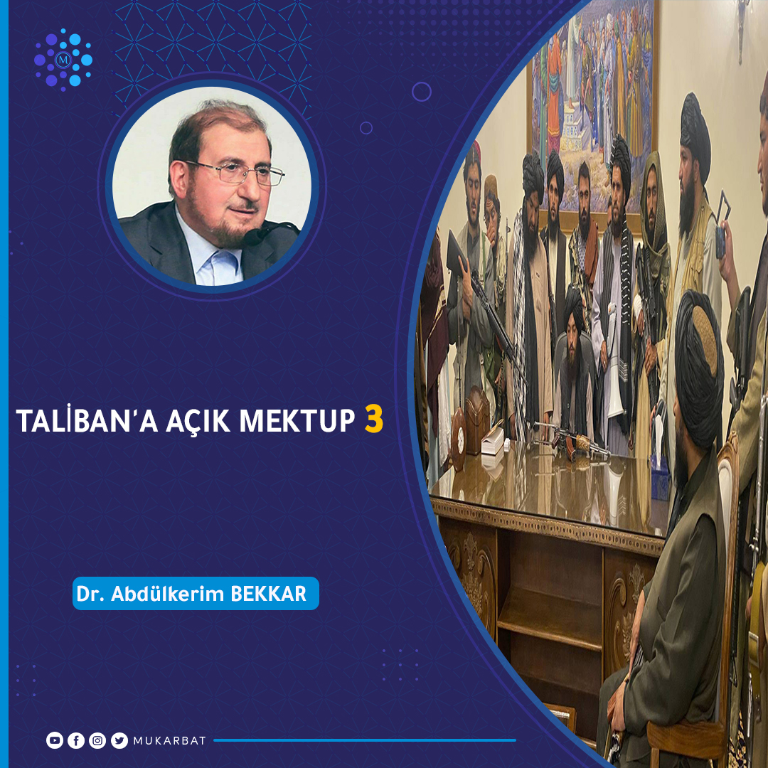 You are currently viewing TALİBAN'A AÇIK MEKTUP – 3