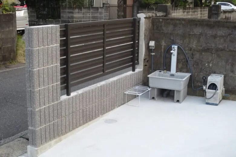 庭を駐車場につくり変えるときは水道業者も検討。外構費が安く抑えられるかも
