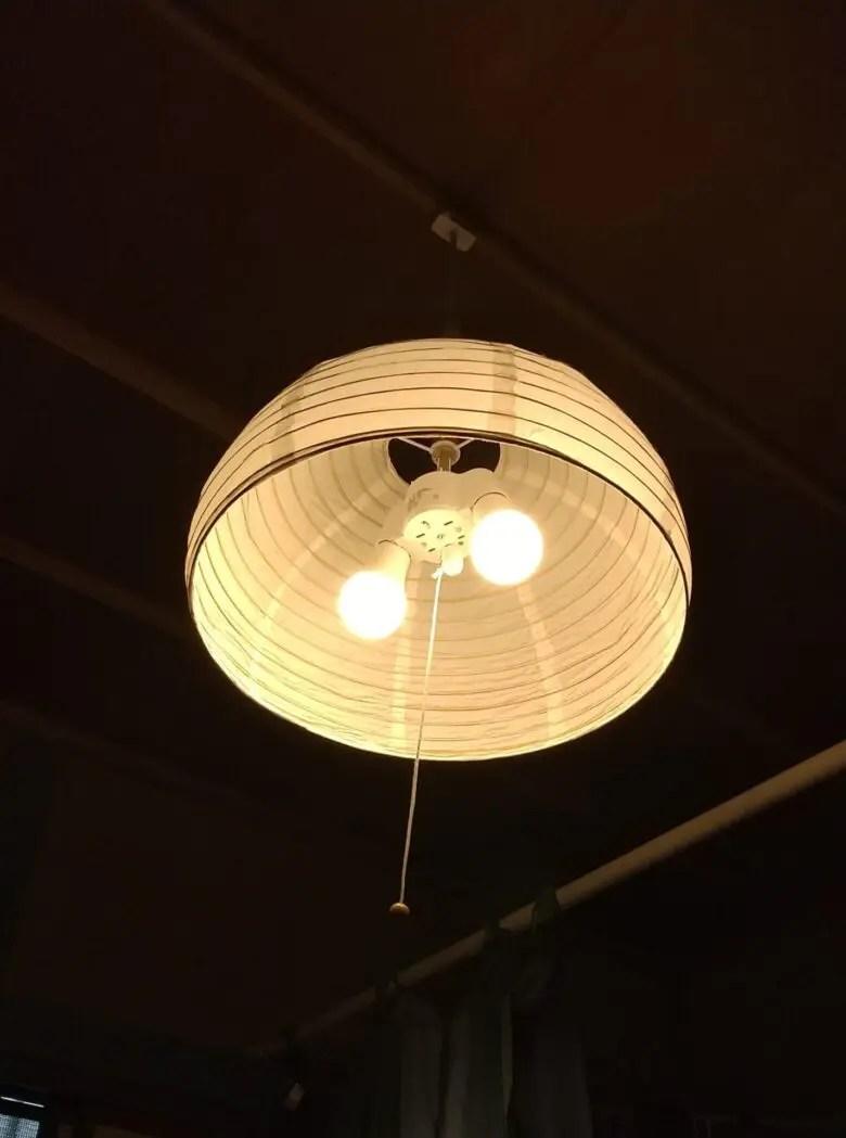 良い意味で裏切られた和風ペンダントライト 「ミーティス」は和紙でムードを作る
