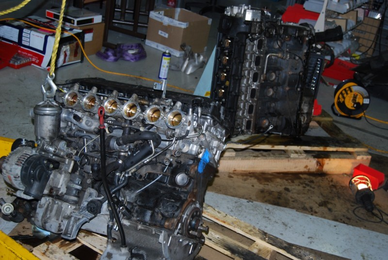 'new' motor