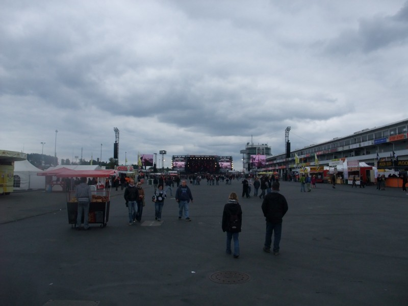 Main stage area
