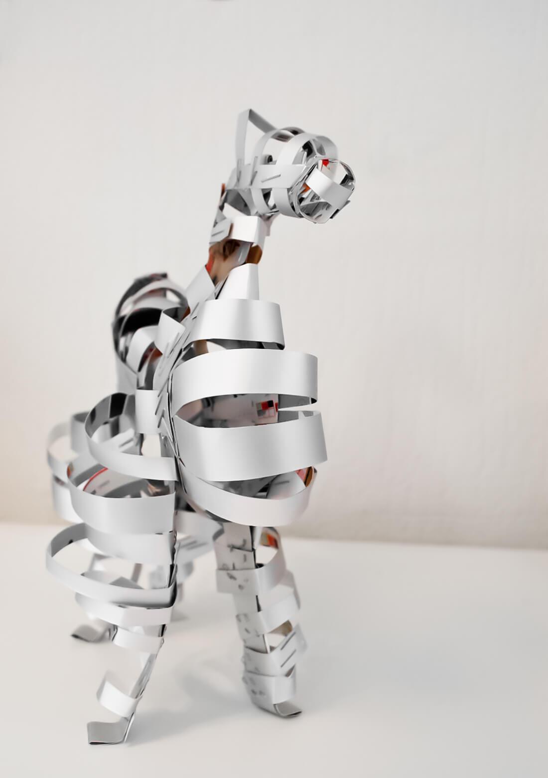 3d Kunstobject - Horse of Troy