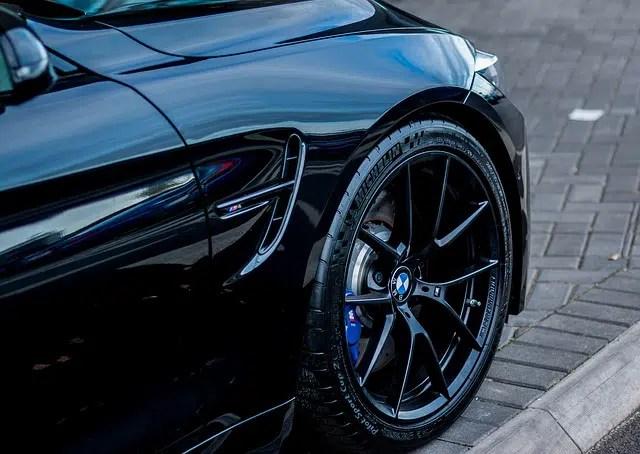BMW tire maintenance