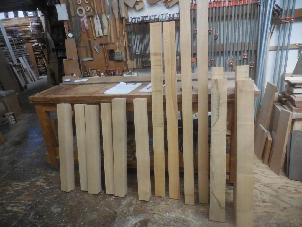 テーブル・座卓の木取り