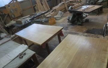 ダイニングテーブル・座卓の塗装