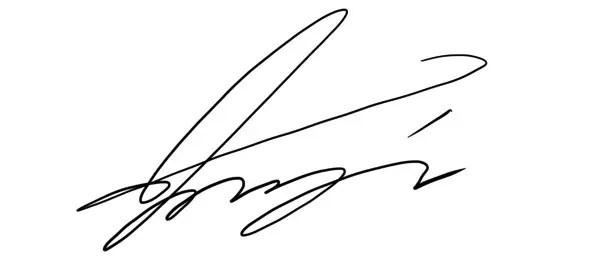 かっこいいサイン