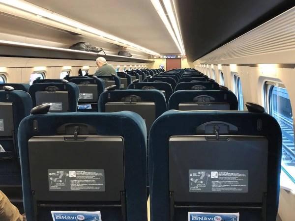 北陸新幹線かがやきのグリーン車