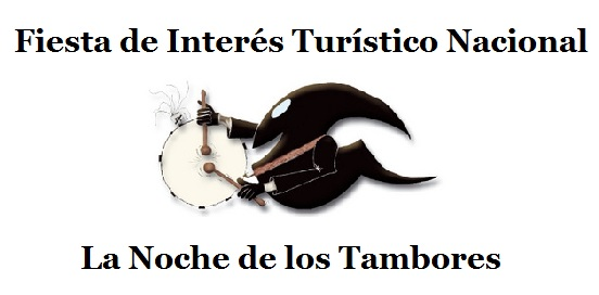 logo la noche de los tambores