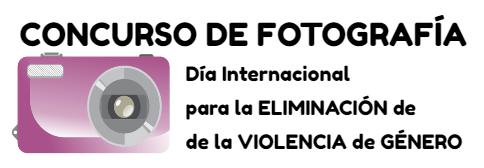 logo concurso fotografía violencia género
