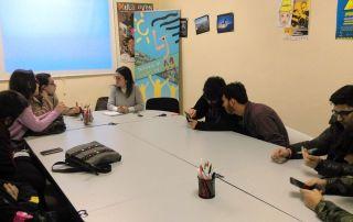 reunión concejala juventud con clm