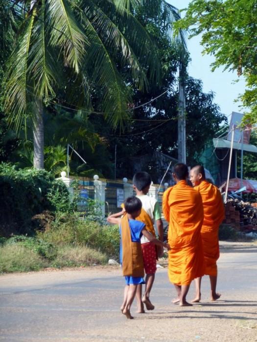 stung treng moines dans la rue