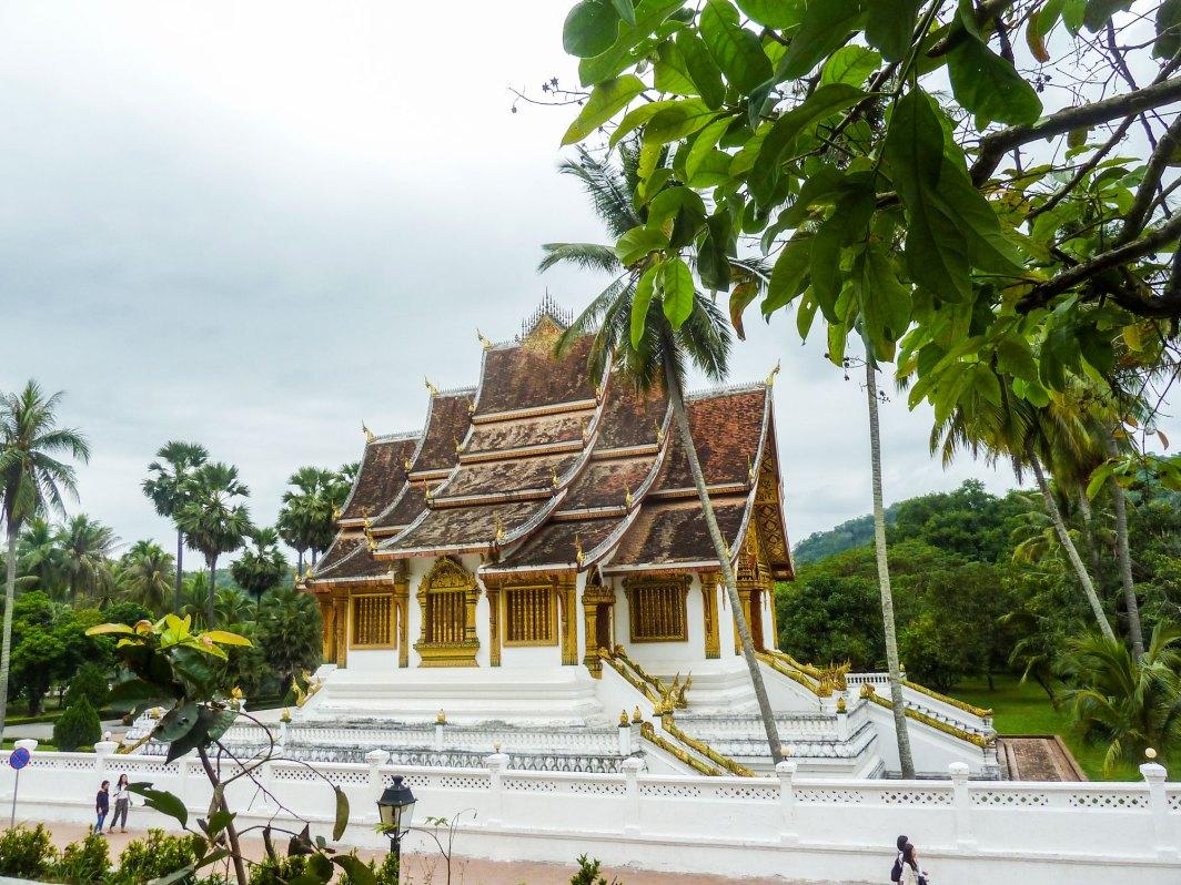 Laos Temple Bouddhiste Luang Prabang