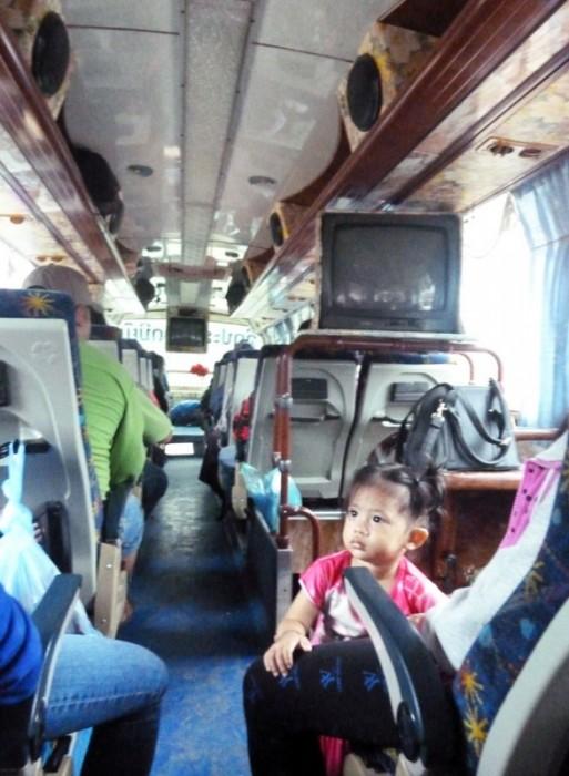 Laos, bus entre Vientiane et Luang Prabang