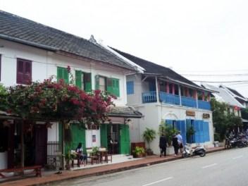 Laos, Luang Prabang, demeure coloniale