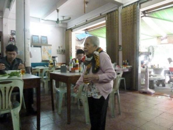 Laos, Luang Prabang, restaurant chinoix