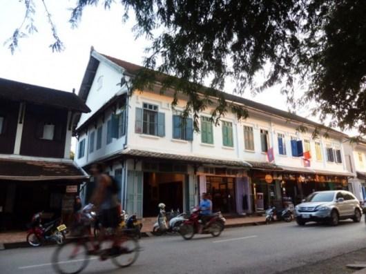 Laos, Luang Prabang, Le Chitchareune Mouang Luang Hôtel