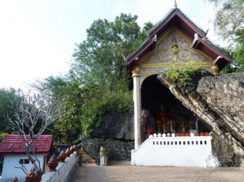 Laos, Luang Prabang, Bouddha du Mont Phousi