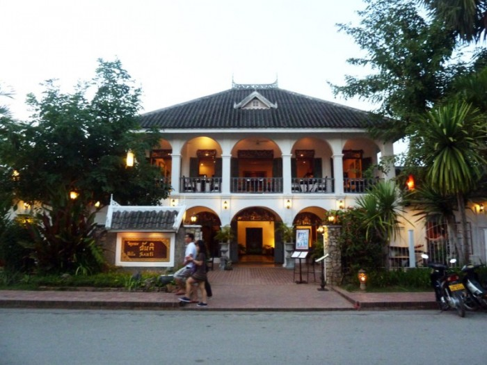 Laos Luang Prabang Villa Santi