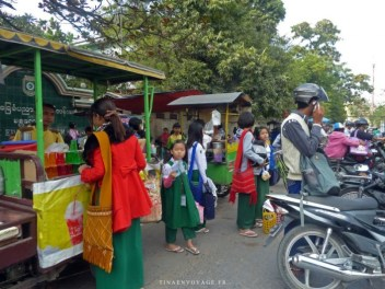 Mandalay sorti d'école