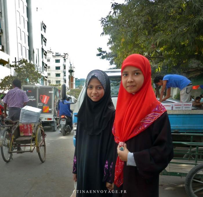 Mandalay Jeunes filles