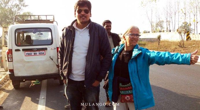 Transport d'Amritsar à la frontière de Wagah et ses aléas