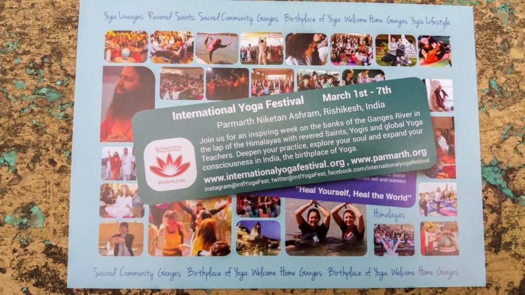Rishikesh, festival du Yoga