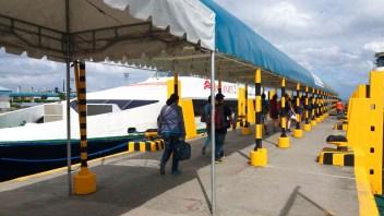 ferry pour rejoindre de Dumaguete l'île de Siquijor aux Philippines