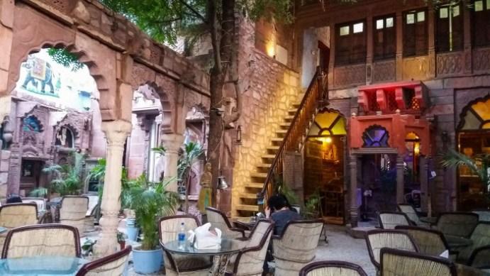 Jodhpur Inde, mon restaurant favoris Jhankar Choti Haveli