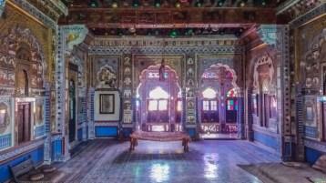 Jodhpur Inde,une des salles du Fort Mehrangarh