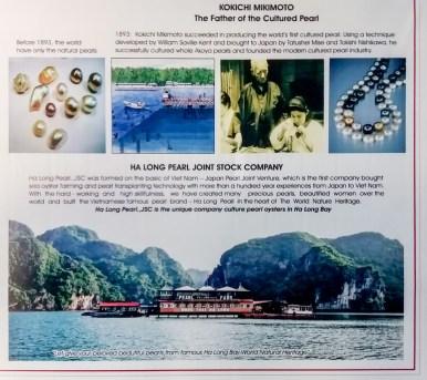 Ferme d'huîtres perlières de la Baie d'Halong Vietnam