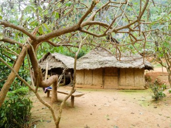 Village Ban Na près de Nong Khiaw au Laos