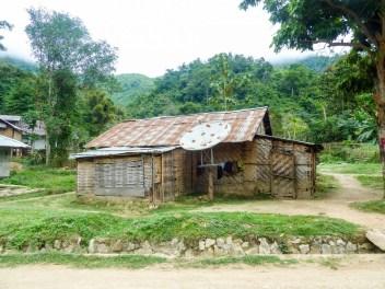 Maison en bambou de Nong Khiaw au Laos
