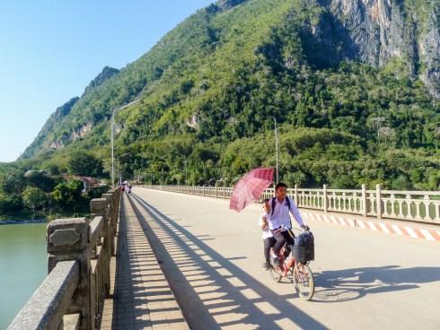 Le pont de Nong Khiaw au Laos