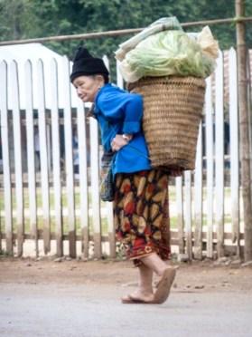 Femme laotienne de Nong Khiaw