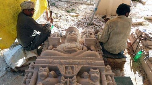 sculpteurs de Khajuraho