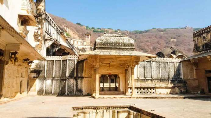 la cour du Diwan I Khas dans le Palace de Bundi