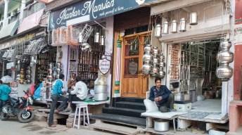 Les boutiques de Bundi