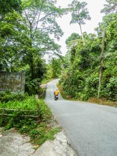 Route principale de Ko Chang
