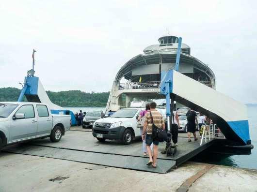 Débarcadère de Ko Chang